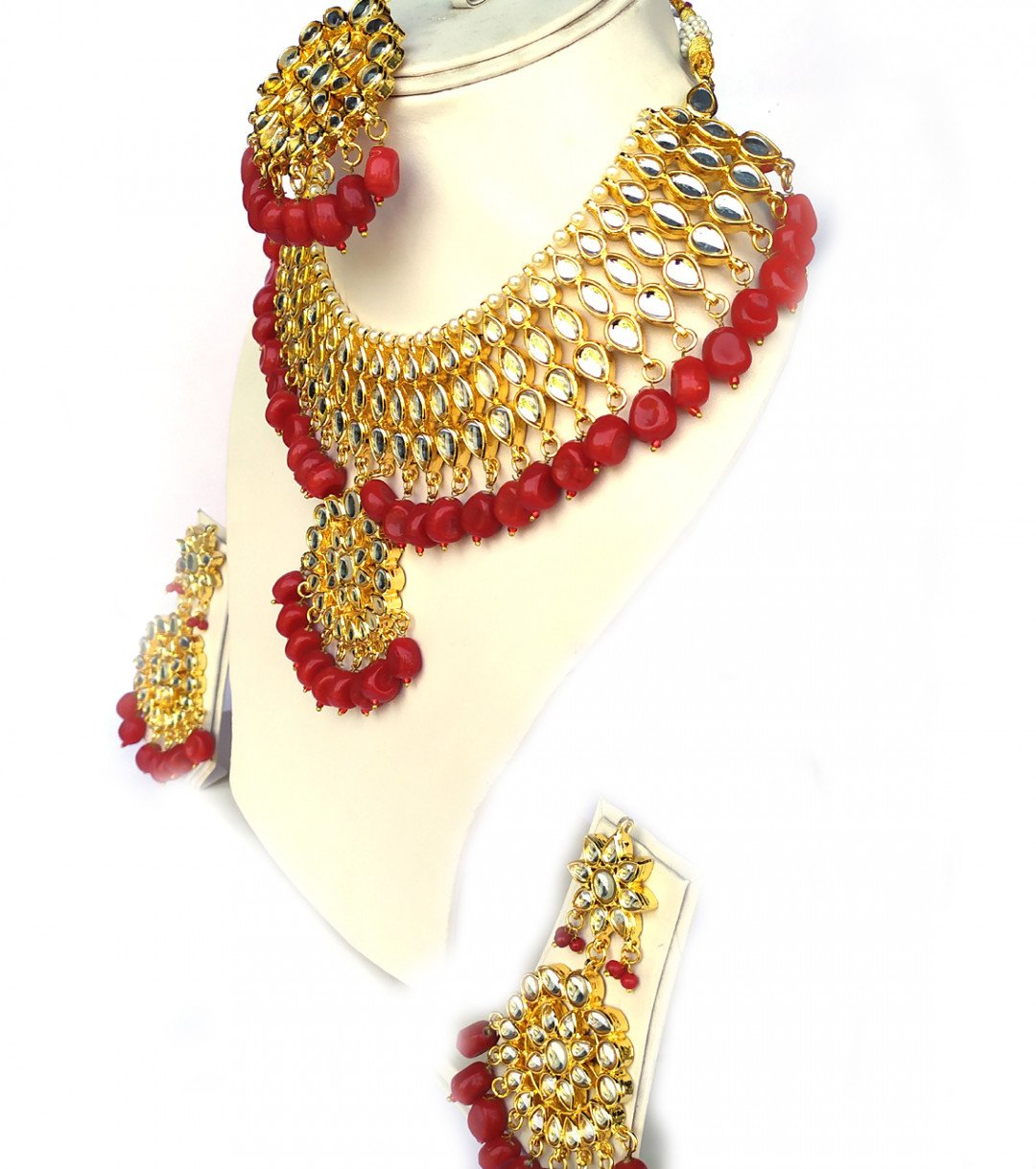 Indian kundan necklace sets for women & girls