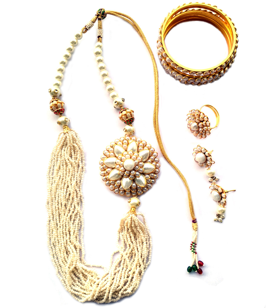 Combo Necklace Set with Jaipuri Style 04