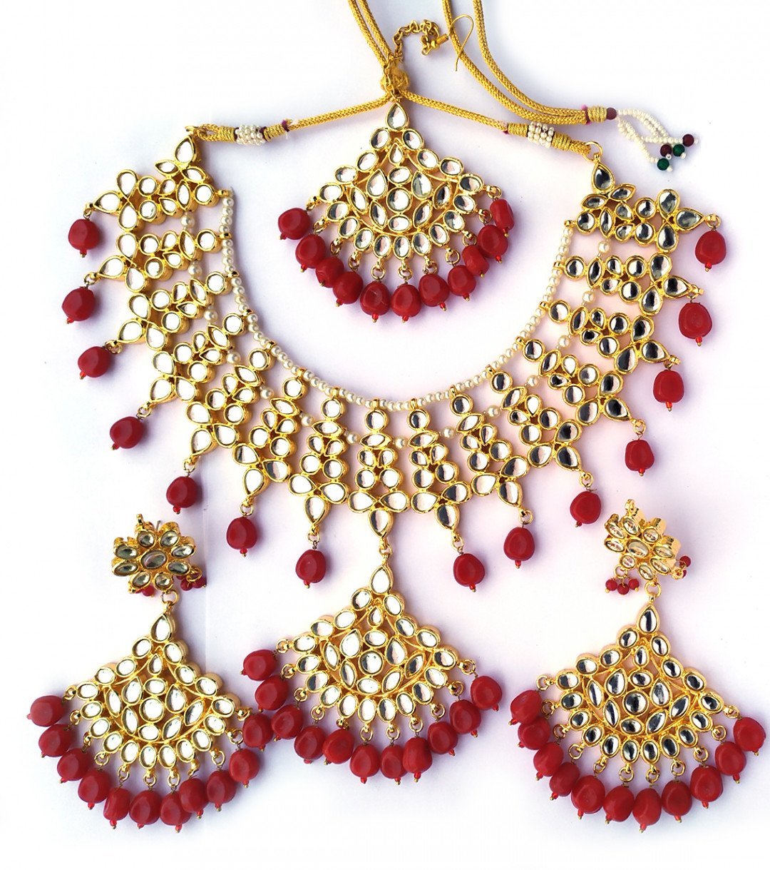 High quality kundan necklace sets for women & girls