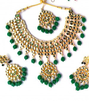 Best quality kundan necklace sets for women & girls