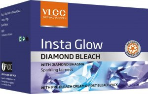 VLCC Insta Glow Diamond Bleach ( pack of 3)  (30 g)