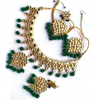 Kundan Jewelry Necklace Set for women & girls