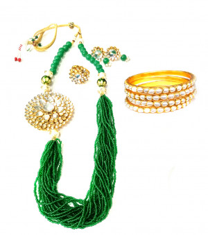 Combo Necklace Set with Jaipuri Style 01