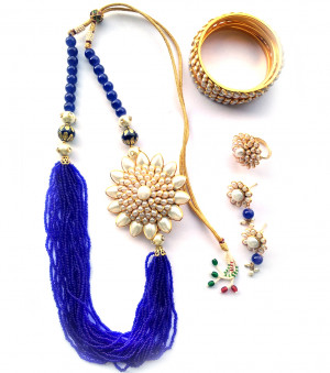 Combo Necklace Set with Jaipuri Style 03