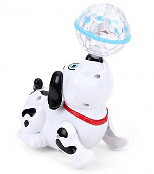 HM Musical Dancing Dog Toy Best Birthday Gift For Kids (Multi-color)